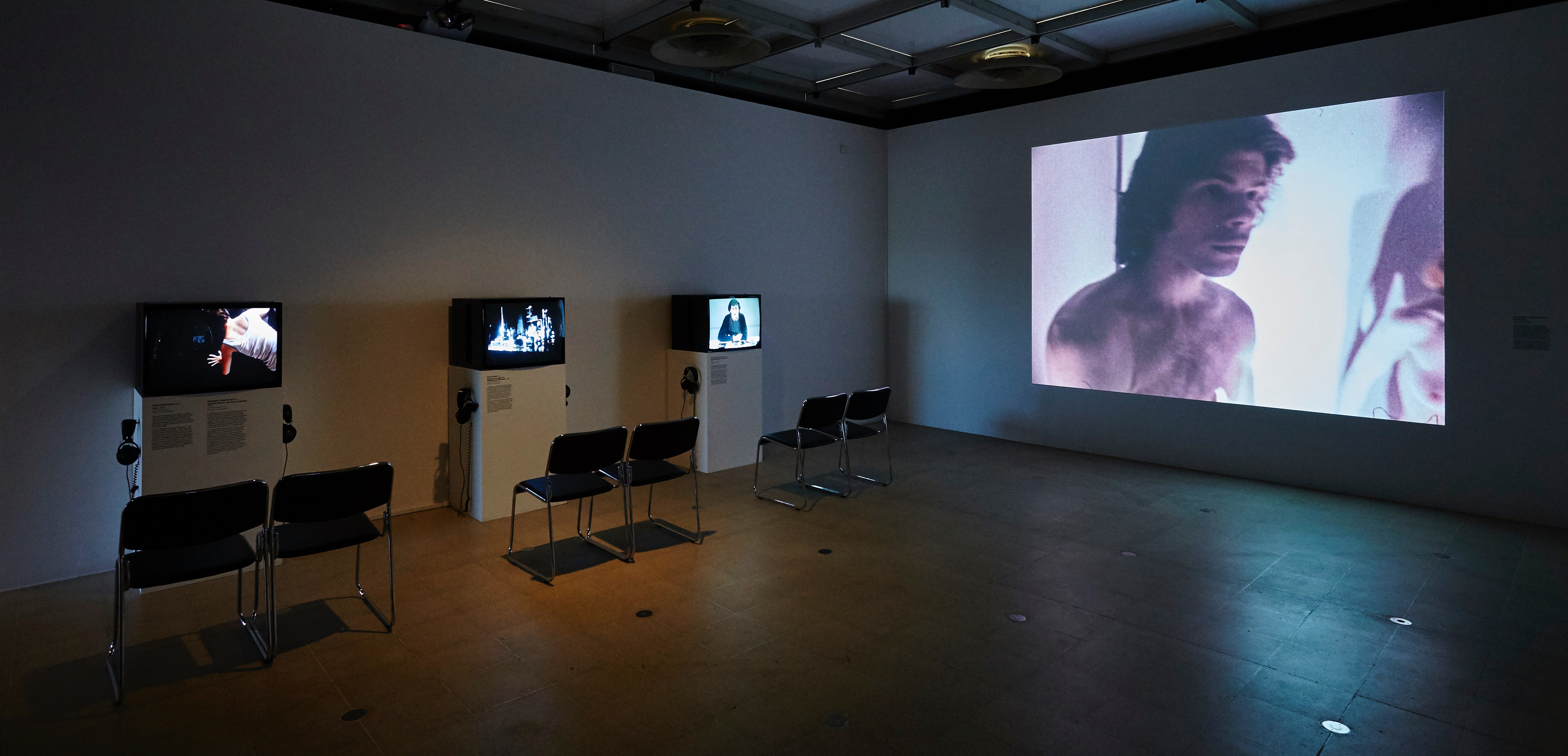 Installation view of John Akomfrah's section, <i>History Is Now: 7 Artists Take On Britain</i>
