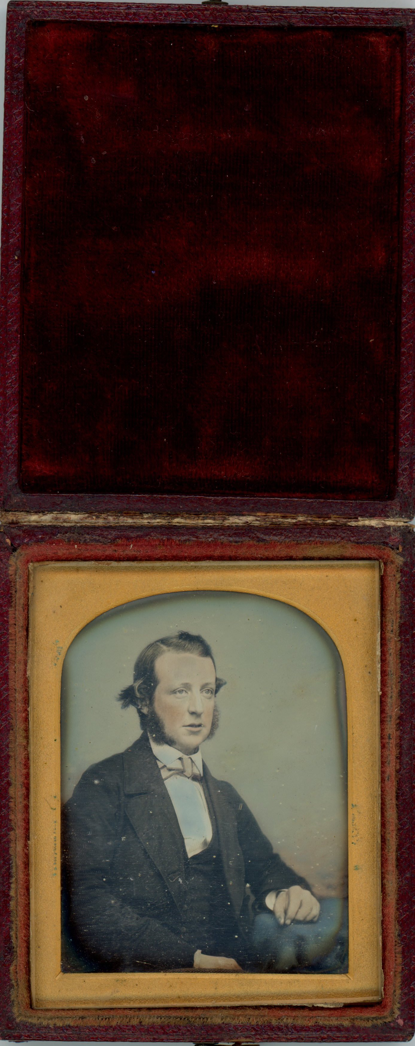 Portrait of a Man (showing photograph in case)