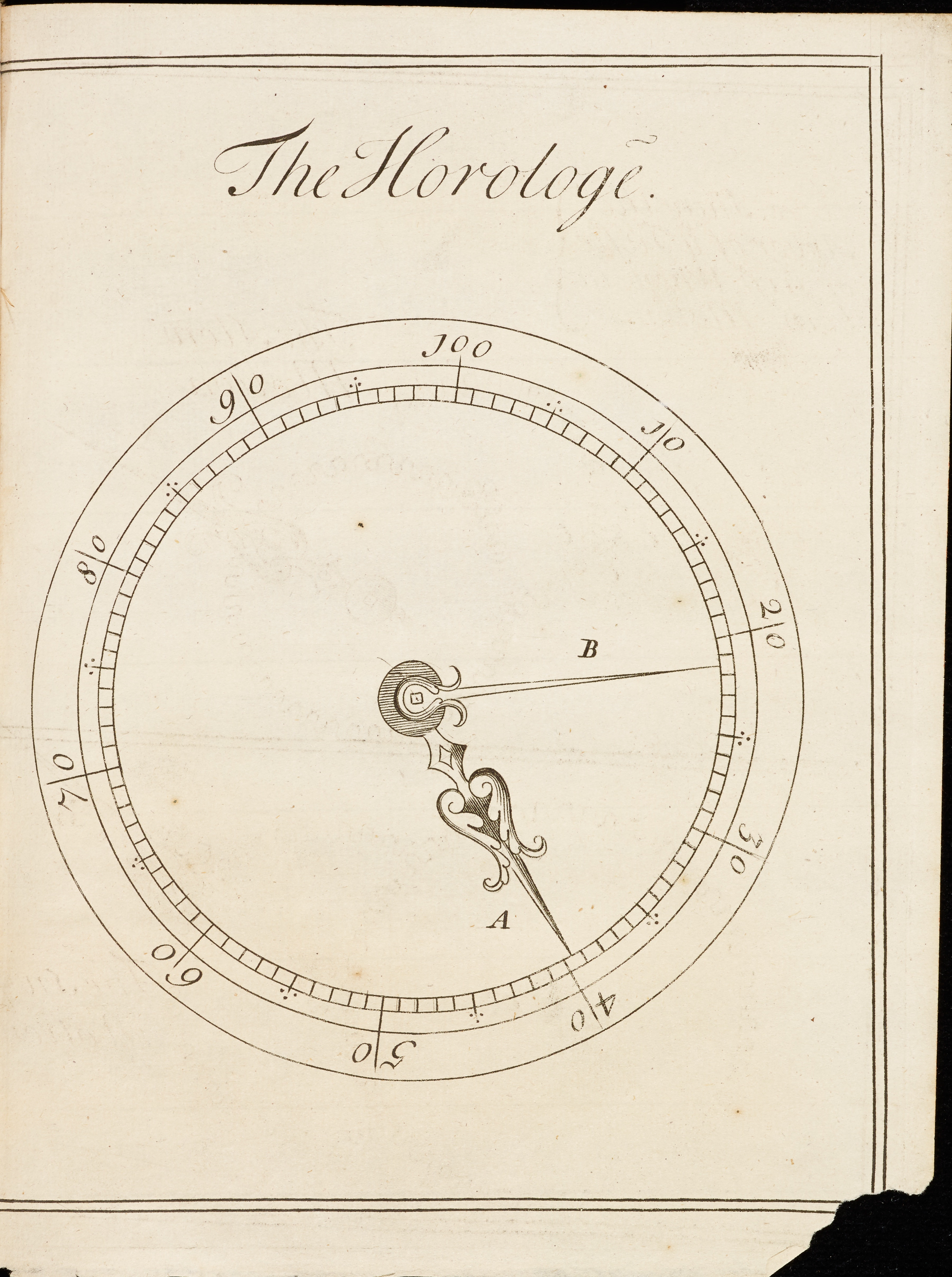 from William Hobbs, <i>A new discovery for finding the longitude</i>, 1714, engraving, 21.5 x 16.1 cm