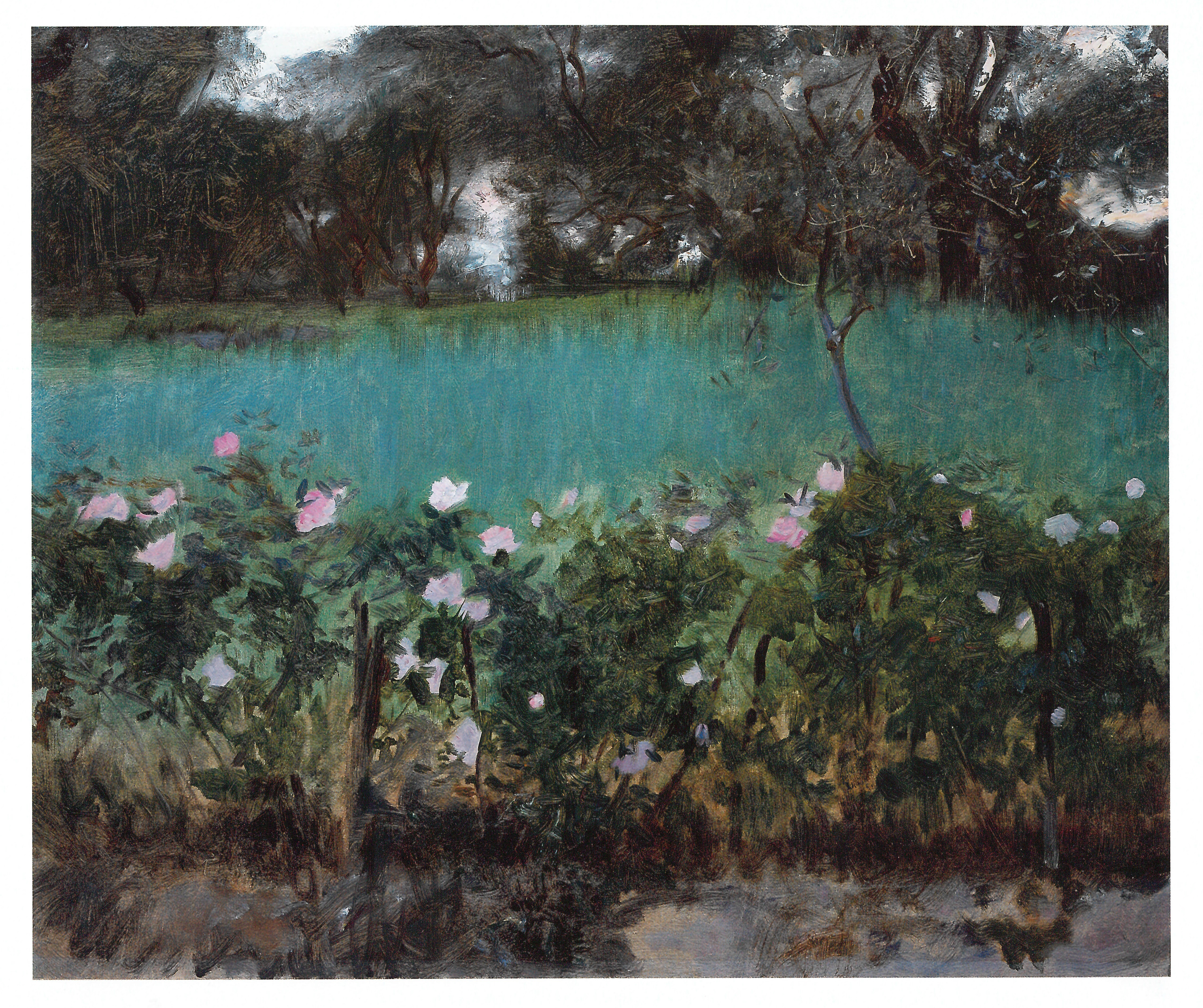 Landscape with Roses