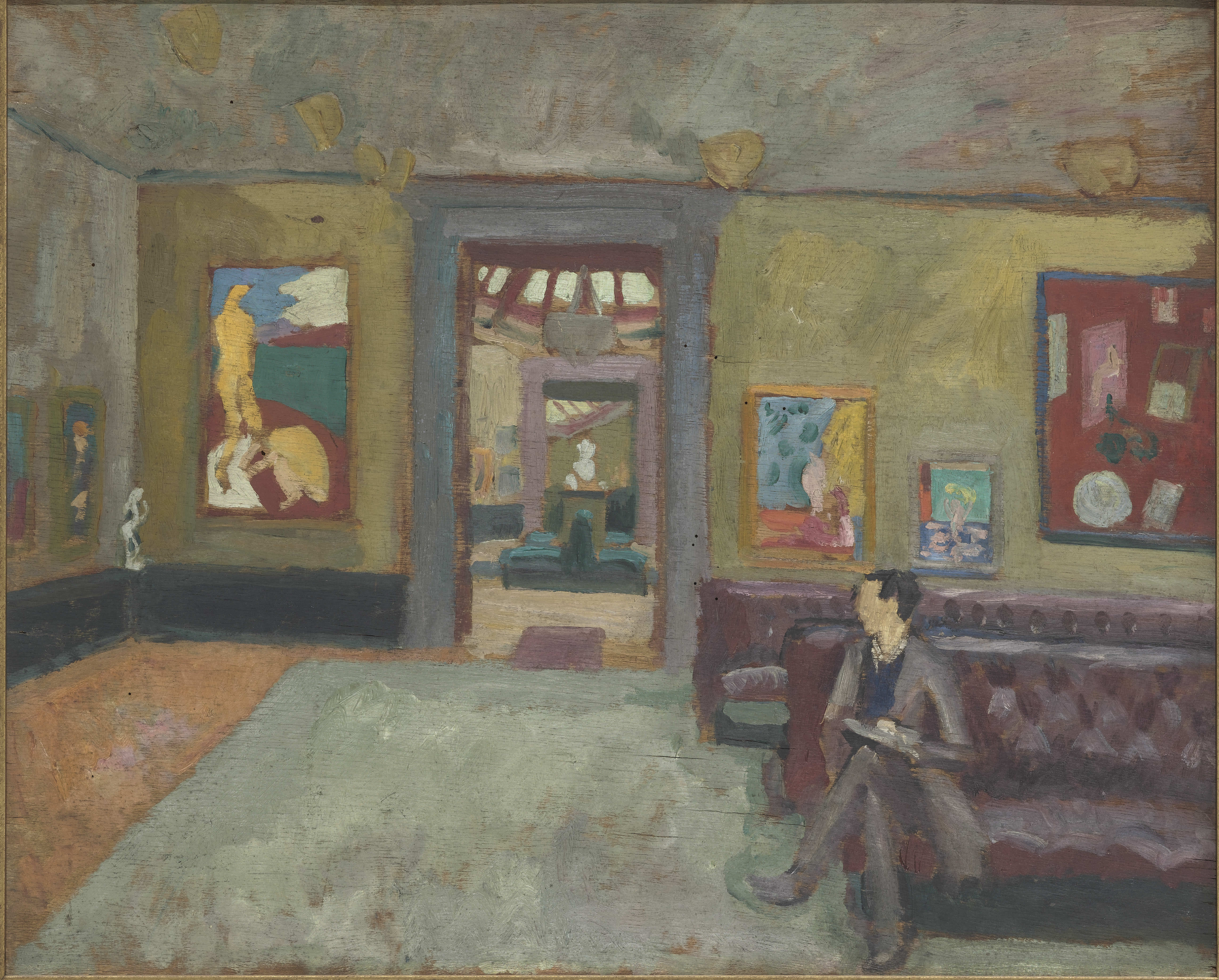 1912–1913, oil on panel, 50.5 x 60.5 cm. Collection Musée d'Orsay, Paris.