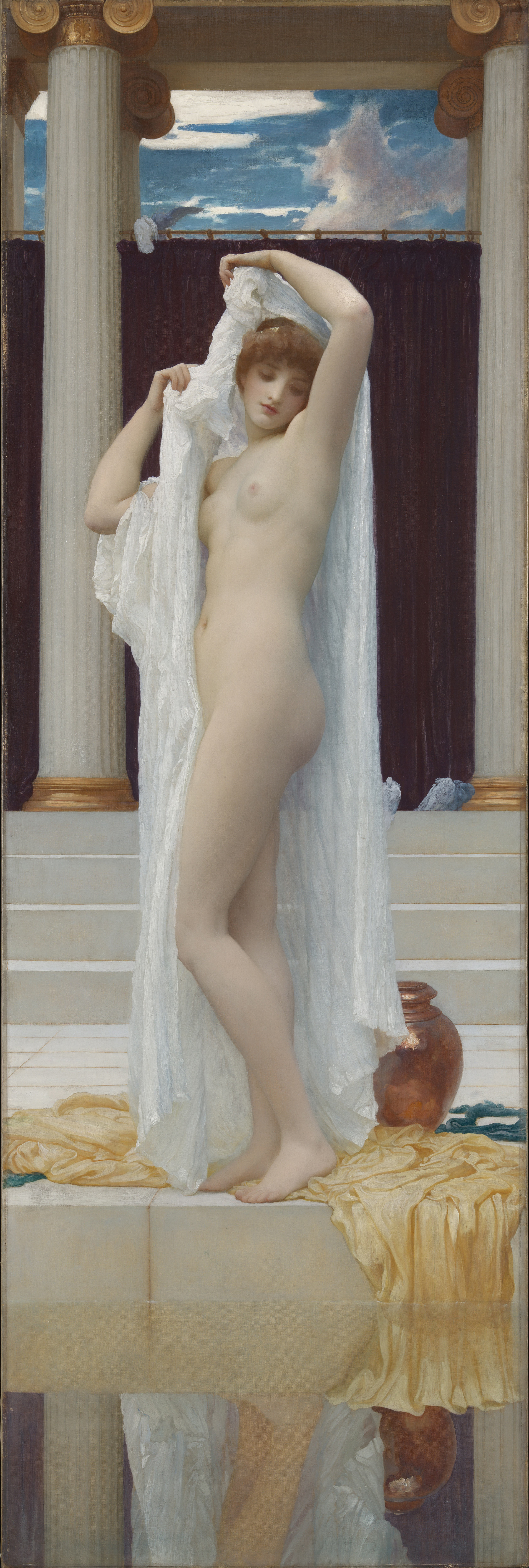 exhibited 1890, oil on canvas, 189.2 x 62.2 cm. Collection of Tate, London (N01574).