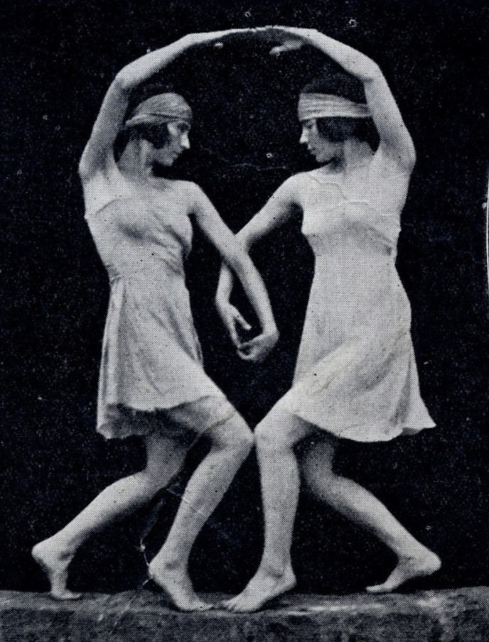 "1920s, photograph in David Walker, ""The Dancer from the Dance: Margaret Morris,"" <i>The Library Time Machine</i> (blog), <i>Royal Borough of Kensington and Chelsea Libraries Local Studies</i>, 31 January, 2013. https://rbkclocalstudies.wordpress.com/2013/01/31/the-dancer-from-the-dance-margaret-morris/"