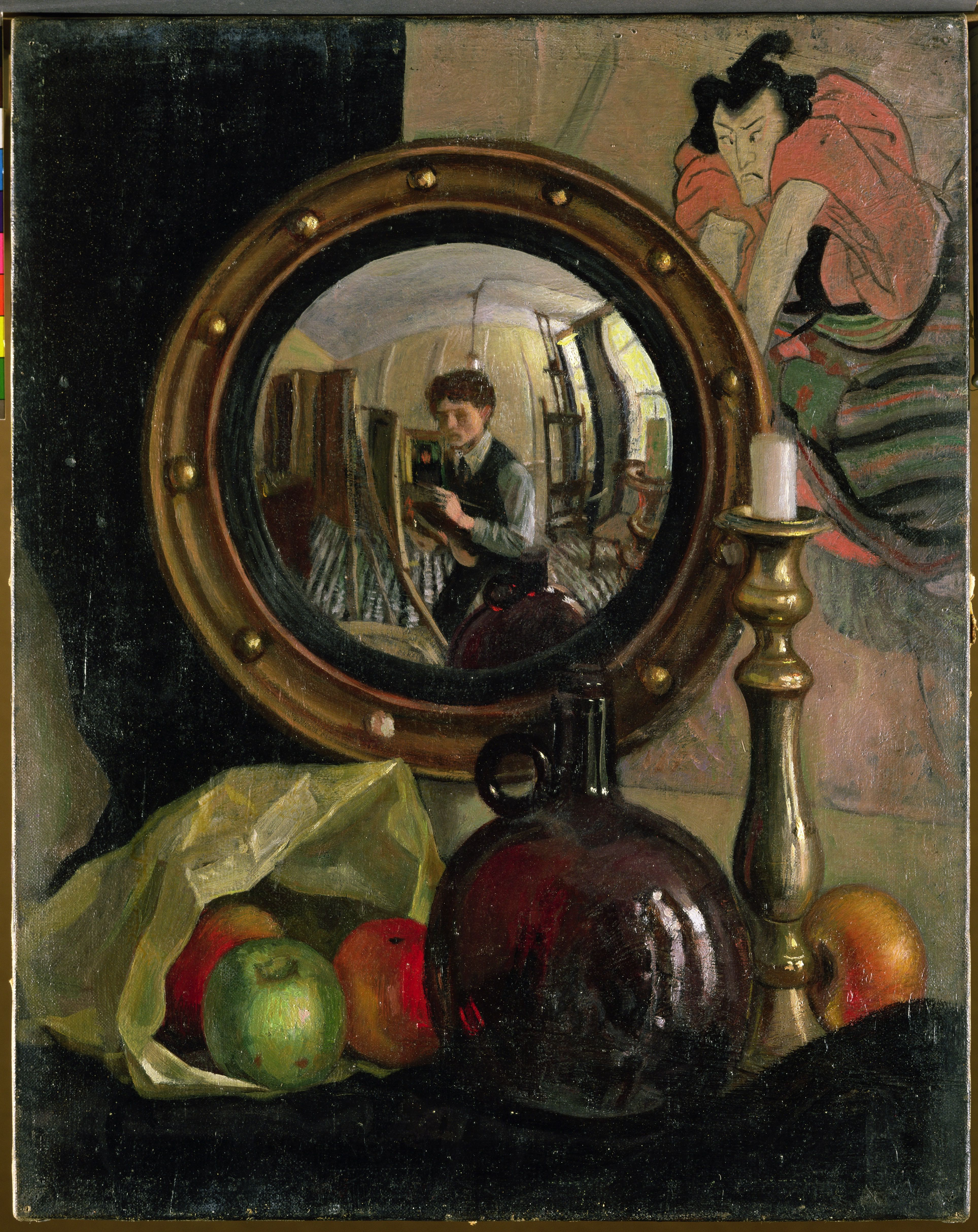 Still Life with Self-portrait