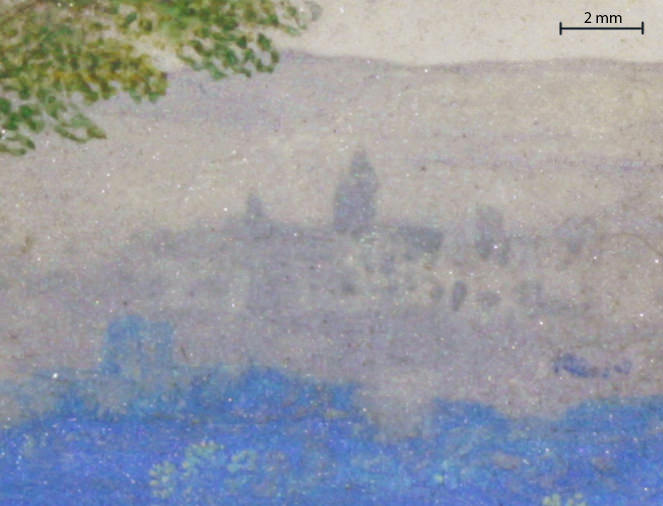 A landscape (detail of visible image)