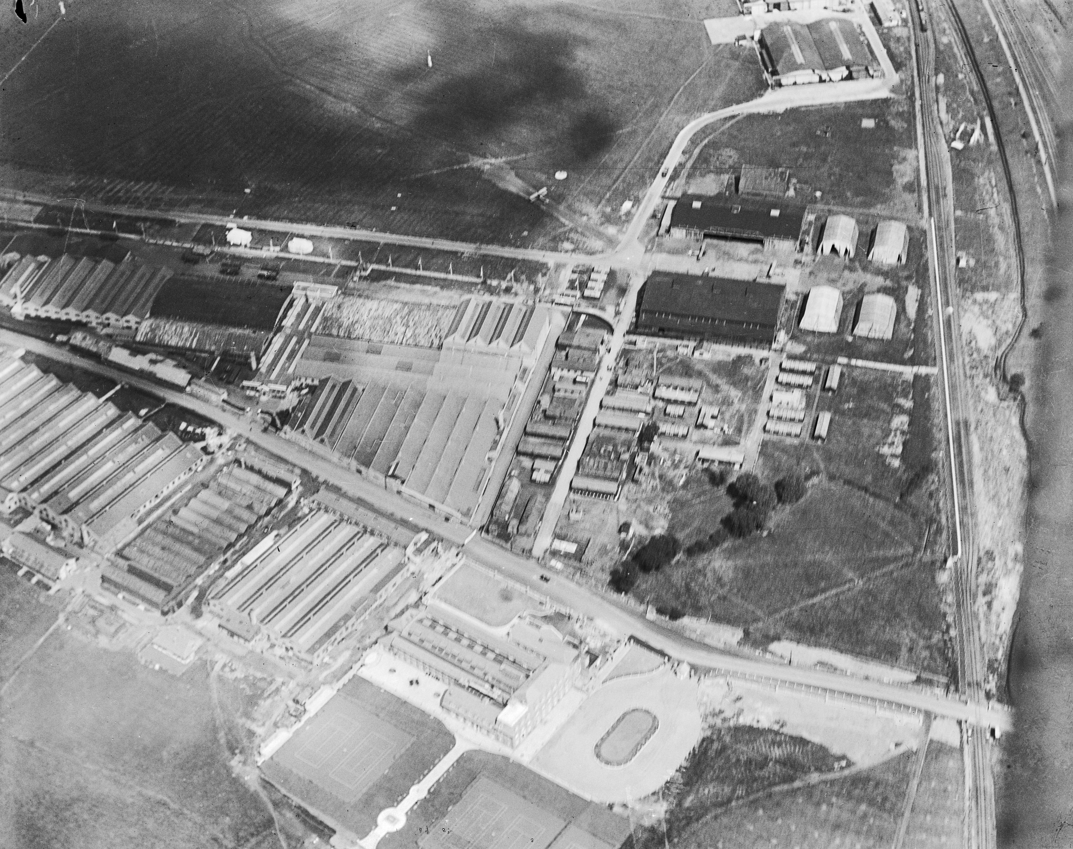 Aerodrome and Works, Hendon, 26 July 1919