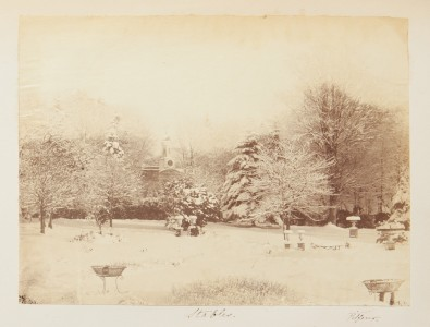 Stables in the snow, from the Georgina Ferguson Album
