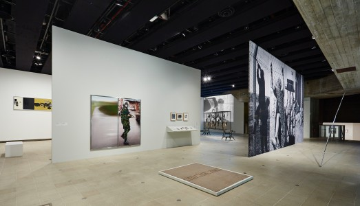 Installation view, Jane & Louise Wilsons' section, <i>History Is Now: 7 Artists Take On Britain</i>