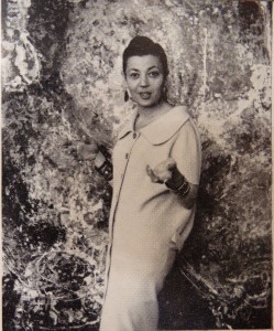 untitled photographic portrait reproduced in <i>Uppercase</i> 1 (1958). British Library, London
