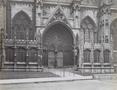 <i>Southeast Porch of Lincoln Cathedral, chapels</i>, ca. 1895