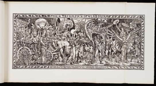 <i>The Triumph of Labour</i> engraving after Walter Crane, 1891