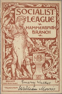 Membership Card for the Hammersmith Branch of the Socialist League, 1890