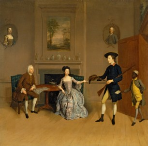 John Orde, His Wife, Anne, His Eldest Son, William, and a Servant