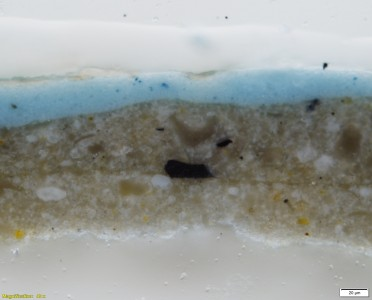 Cross-section from the sky