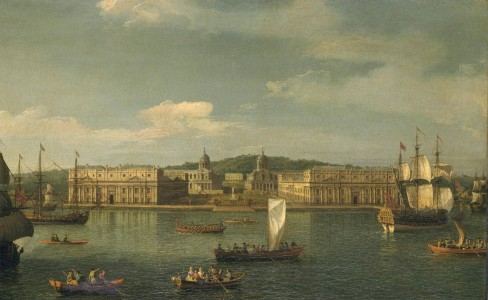 A View of Greenwich from the River