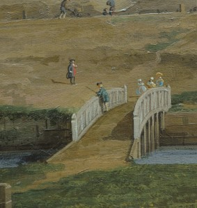 Detail of footbridge