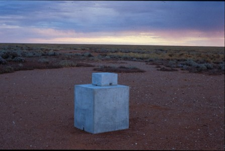 1989, concrete, 92 x 58 x 51 cm. Collection of the Art Gallery of New South Wales