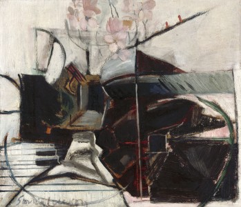1959, oil on canvas, 34 × 25.3 cm. Collection of Royal Academy, of Arts, (03/272).