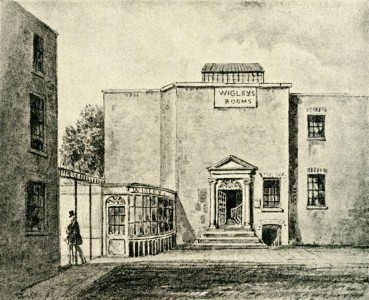 Exterior of Wigley's Rooms, Spring Gardens
