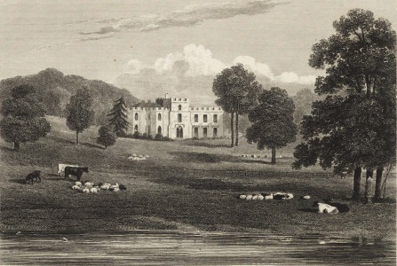 <i>Hertfordshire</i> in <i>Views of the Seats, Mansions, Castles, etc. of Noblemen and Gentlemen in England</i>, Vol. 1 (London: Jones & Co. 1829), 151., 1829, engraving. Collection of Getty Research Institute (6575).