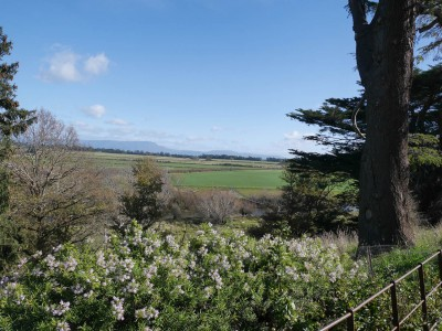View from the Woolmers Estate Towards the Macquarie River and the Distant Great Western Tiers, Tasmania
