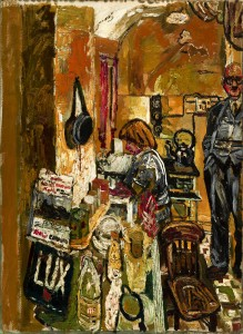 1955-1956, oil on board, 119.3 x 86.3 cm. Collection of Williamson Art Gallery & Museum (BIKGM:3355).