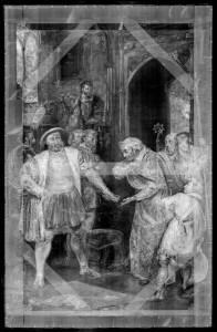 The Disgrace of Wolsey: X-radiograph