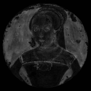Portrait of an Unknown Lady (X-radiograph)