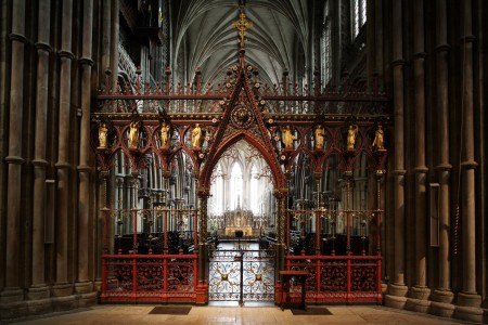 Lichfield Cathedral Crossing Screen