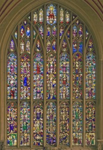 <i>east window, Tree of Jesse</i>, ca. 1820.