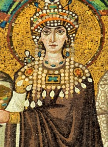 Mosaic of Empress Theodora