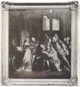 The Offer of the Crown to Lady Jane Grey, by the Dukes of Northumberland and Suffolk