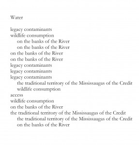Poem created as part of Liberation of the Chinook Wind