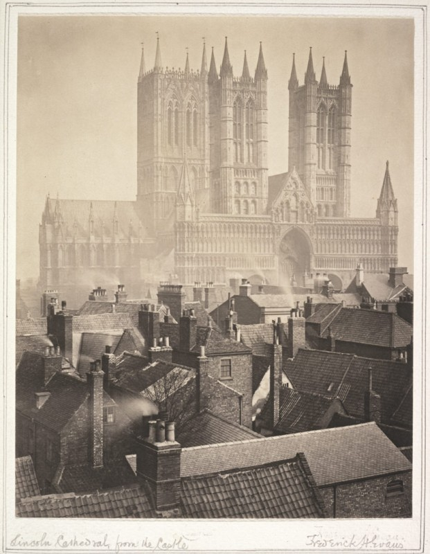 <i>Lincoln Cathedral from the Castle</i>, 1898
