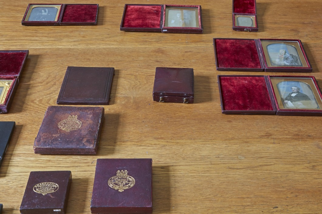 Selection of daguerreotypes in the author's collection