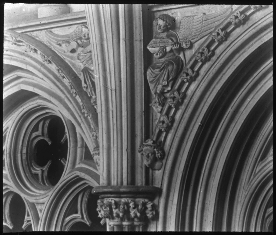 <i>Angels in Lincoln Cathedral</i>, 1895