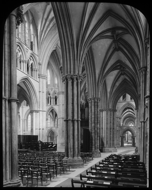 <i>South Aisle of Lincoln Cathedral</i>, 1895