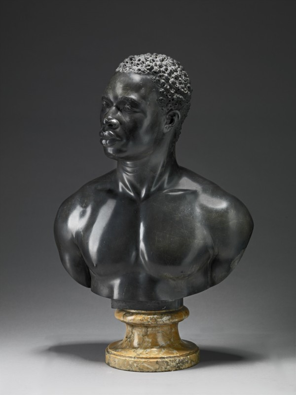 <i>Bust of a man</i>, 1758