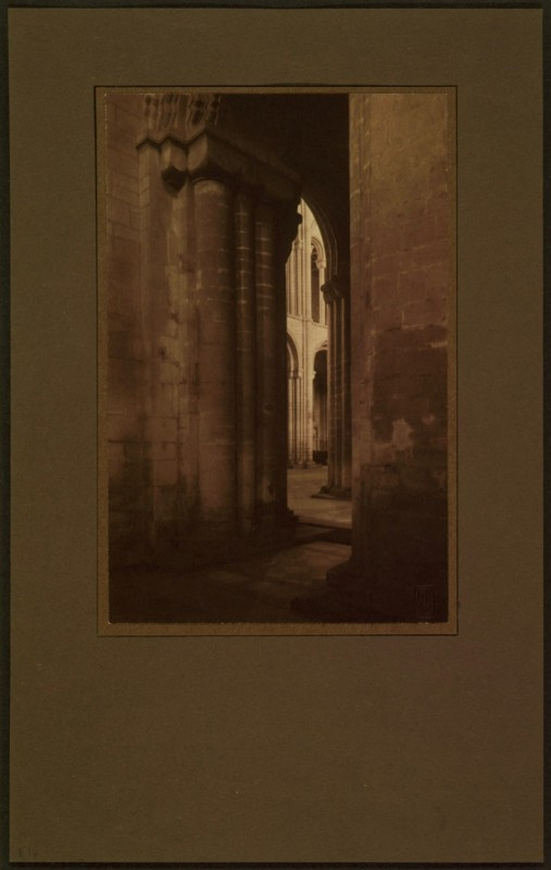 <i>Ely Cathedral: View into Nave</i>, 1900