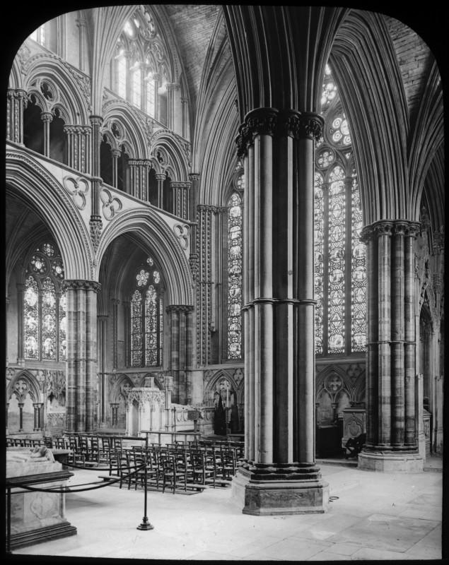 <i>Retrochoir at Lincoln Cathedral</i>, 1895