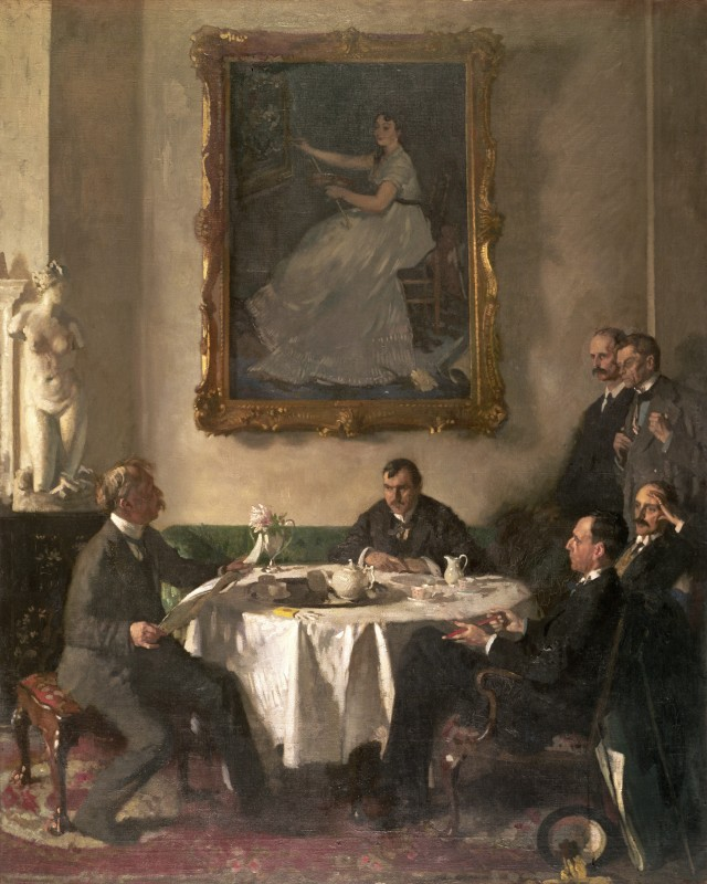 1909, oil on canvas, 162.9 x 130 cm. Collection Manchester Art Gallery (1910.9).