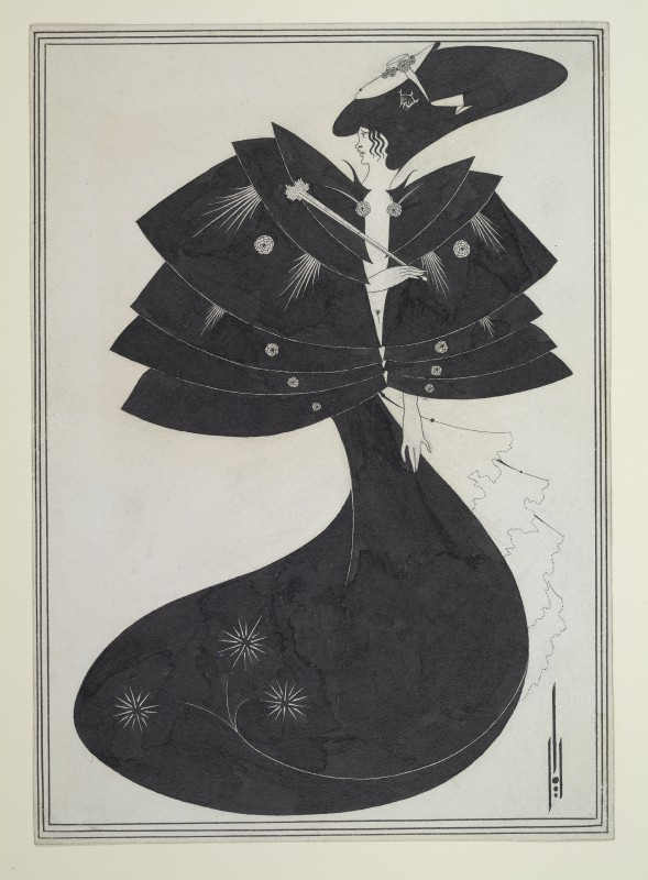 1893, indian ink on white wove paper, 23 x 16.3 cm. Princeton University Library, Princeton University, Princeton, NJ, Aubrey Beardsley Collection (RS227).