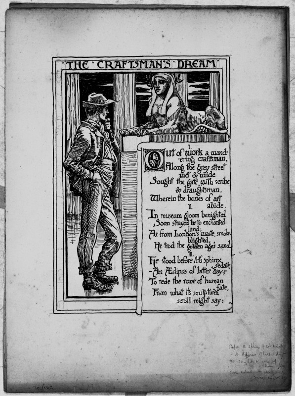 <i>The Craftsman's Dream</i>, n.d