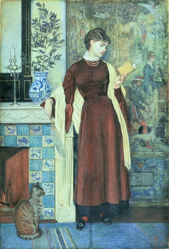 tempera on paper, 71.7 x 40.6 cm. Leeds Museums and Galleries, City Art Gallery