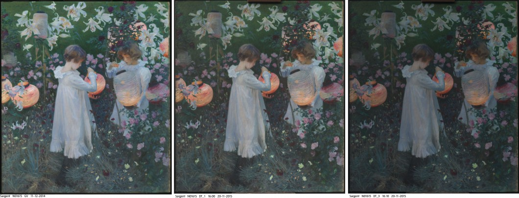 "<i>""Carnation, Lily, Lily, Rose""</i>, 1885–86, oil on canvas, 218.5 x 197 cm"