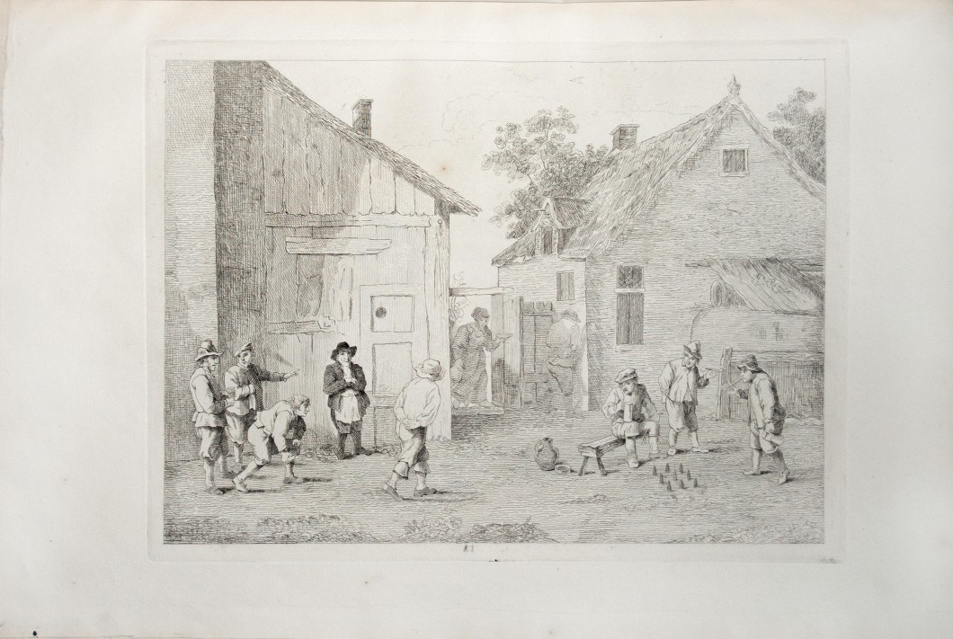 in Cantrill, <i>Etchings from Original Pictures in the Cleveland-House Gallery</i> (London: Published by subscription, 1812), 46.4 x 36.4 cm