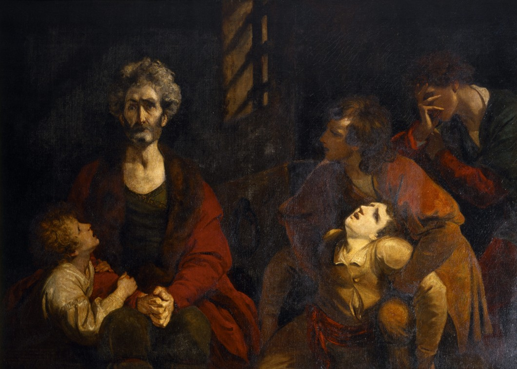 Count Ugolino and his Sons in the Dungeon