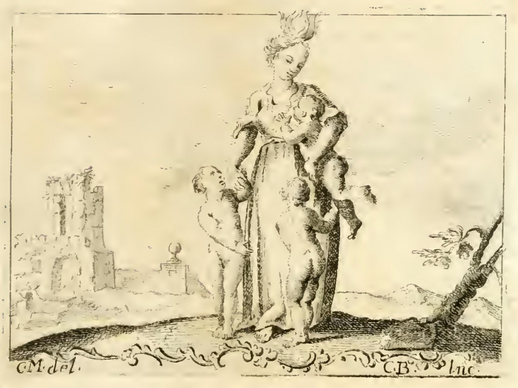 <i>Carità</i> from <i>Iconologia</i>