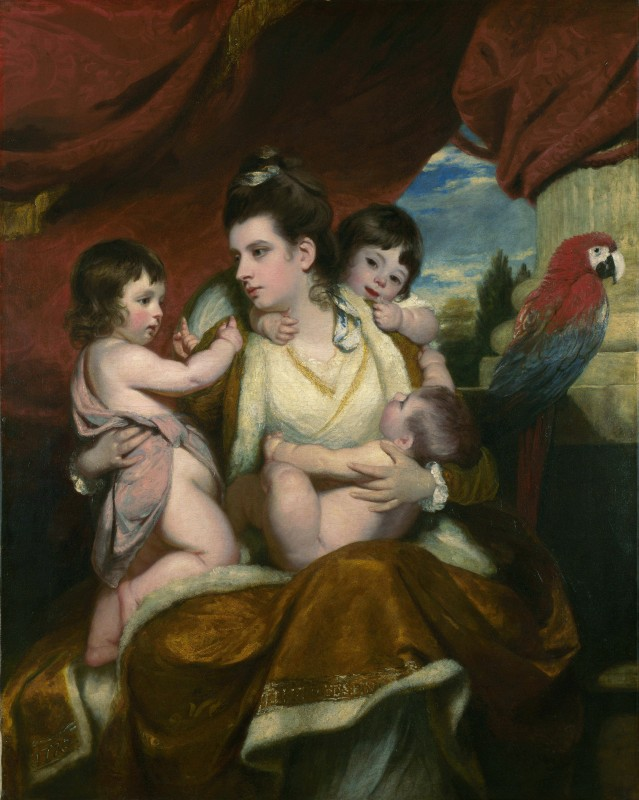 <i>Lady Cockburn and Her Three Eldest Sons</i>, 1773