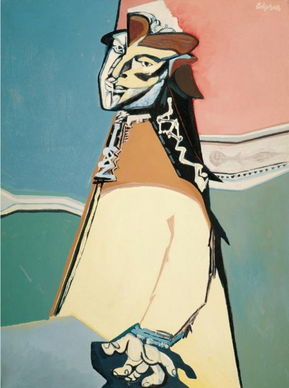 ca.1949, oil on canvas, 104.1 × 79.1 cm. Private Collection.